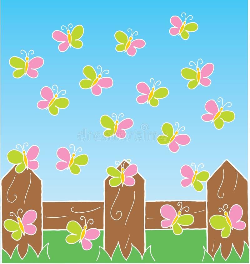 motyla lot ilustracji