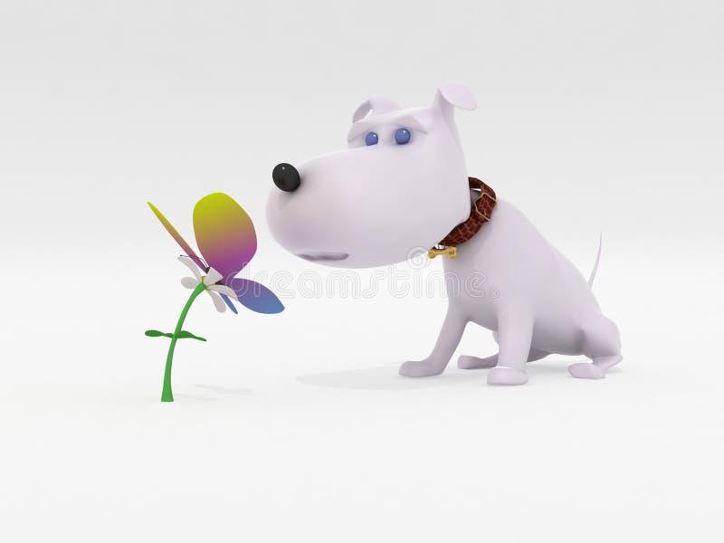 motyla pies ilustracji