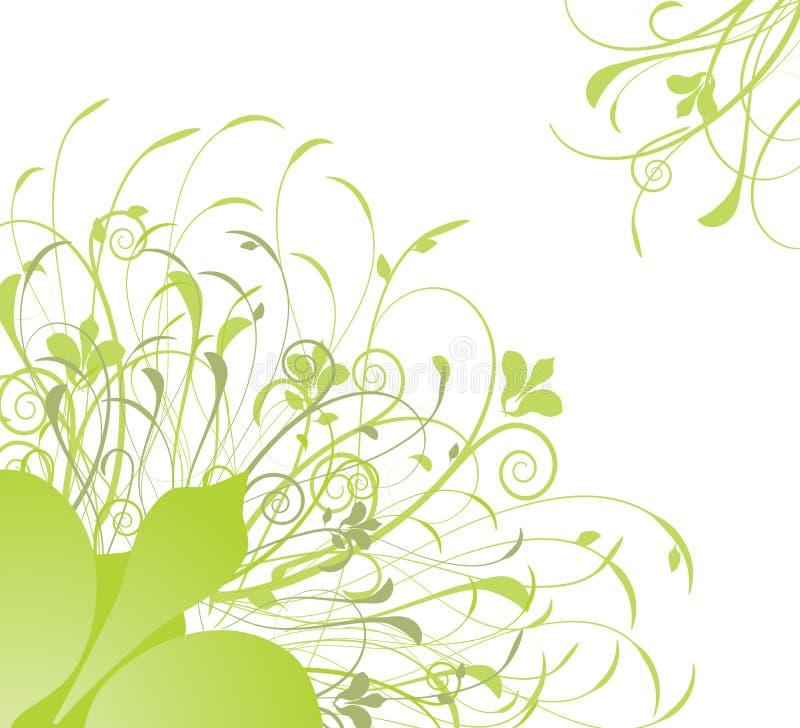 motyle gręplują kwiecistego royalty ilustracja