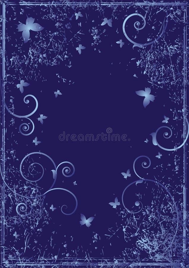 motyle niebieskie ilustracja wektor