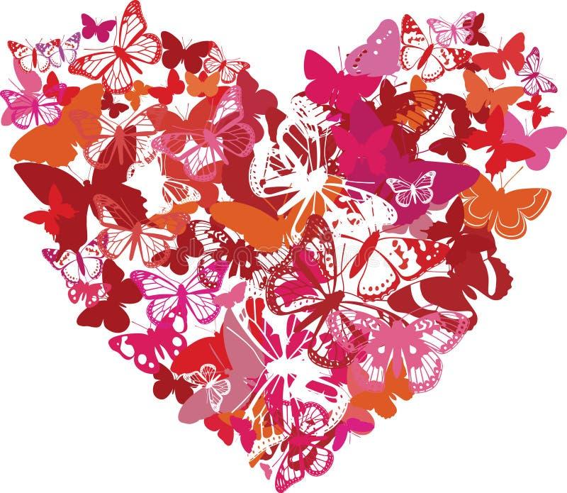 motyle robić kierowy valentine zdjęcie royalty free
