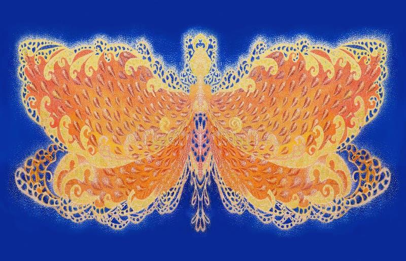 Motyle złote zdjęcia stock