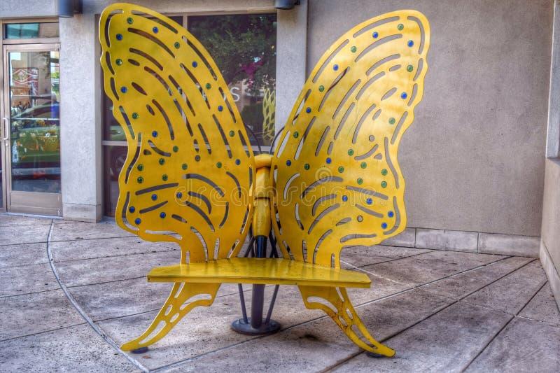 Motyli krzesło obrazy stock