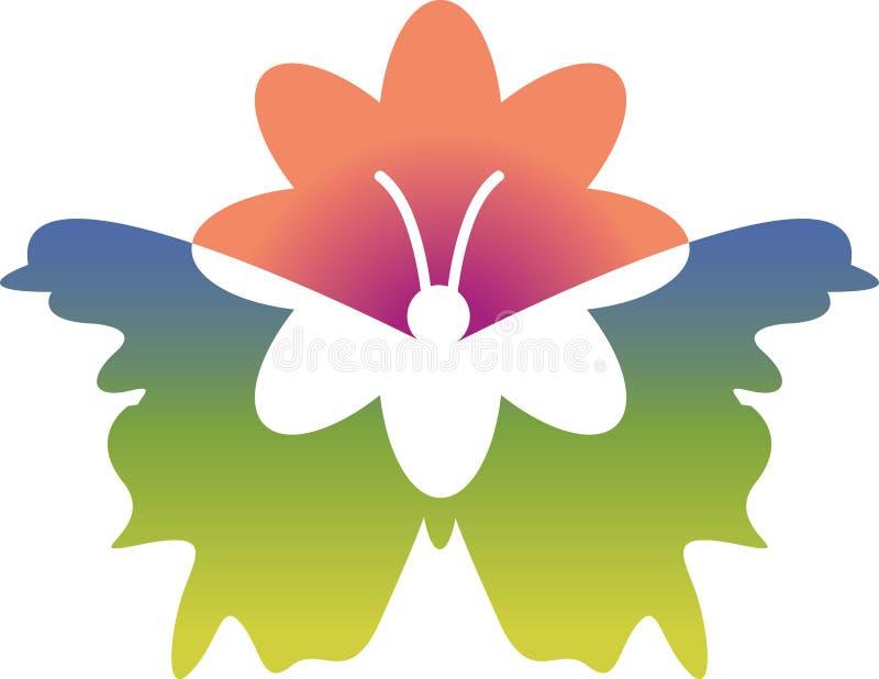 Download Motyli kwiat ilustracja wektor. Obraz złożonej z ilustruje - 14656148