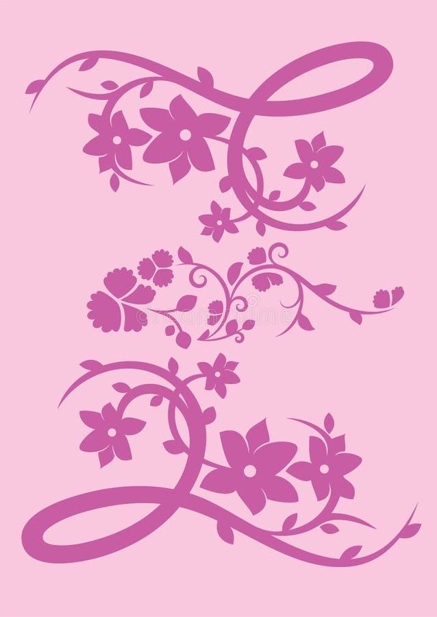 motyli kwiat ilustracji