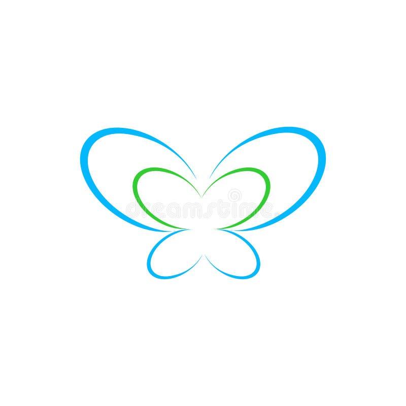 MOTYLI logo projekta szablon, wektor, ikona, gatunek ilustracji