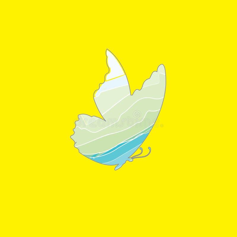 Motyli wektorowy logo Motylia ikona (0) 8 motyli eps ilustracyjnych vailable wersj ilustracja wektor