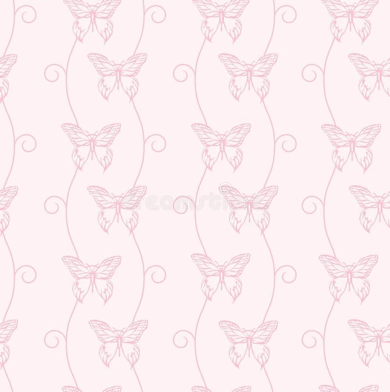 Download Motyli zawijasy ilustracja wektor. Ilustracja złożonej z tło - 13342739