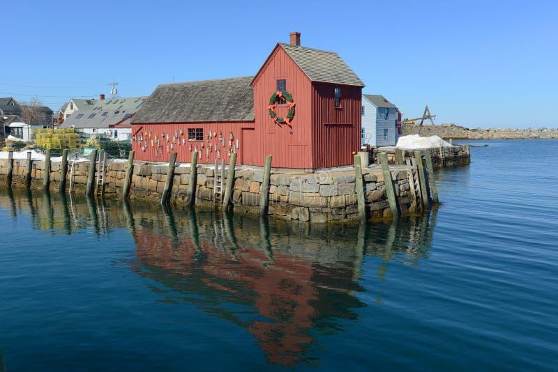 Motyw liczba 1, Rockport, Massachusetts obrazy royalty free