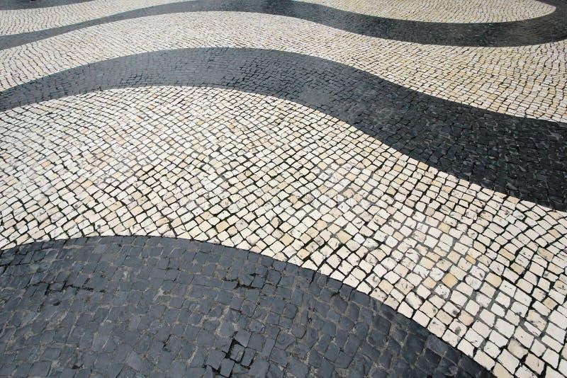 Motyw płytki przy Senado kwadratem: Macau fotografia royalty free