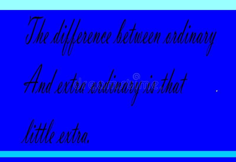 Motywacja i kolorowy projekt wyceny błękita tło ilustracji