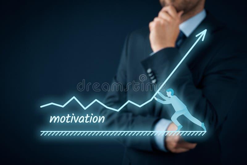 Motywacja przyrost zdjęcie stock