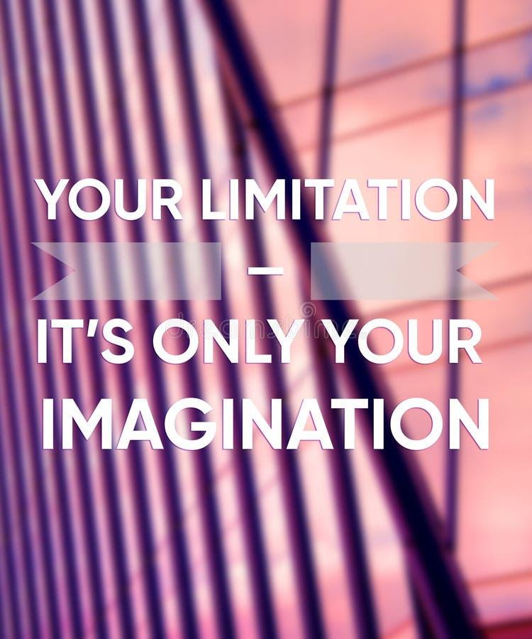 Motywacji inspiracyjne wyceny typograficzne na fotografii Sukcesu pozytywu plakat obraz stock