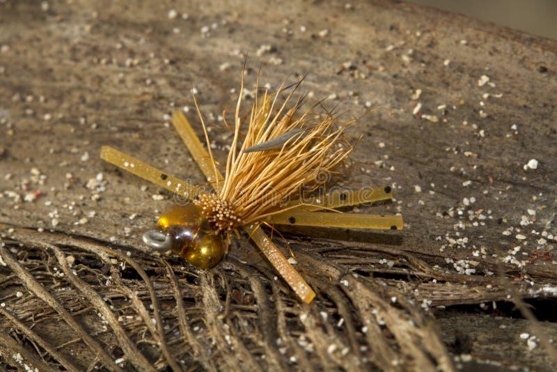 Mouche amère de laiss de Bonefish - pêche de mouche photographie stock