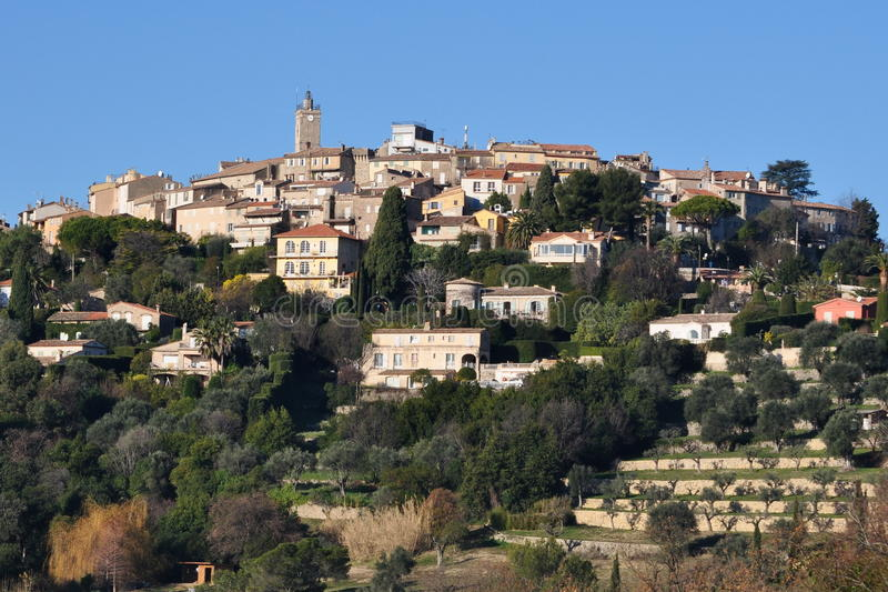 Download Mougins, French riviera stock image. Image of medieval - 24996703