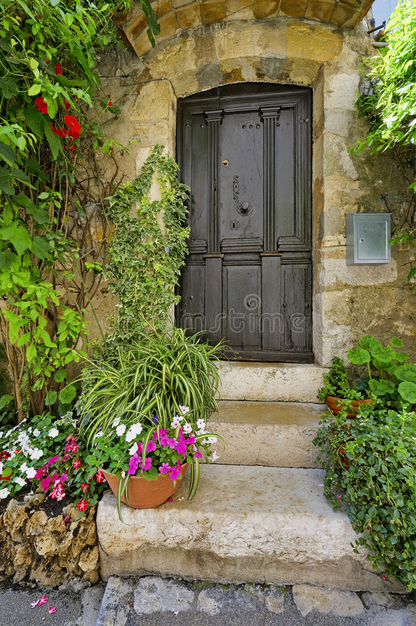 Mougins village, French riviera. royalty free stock image