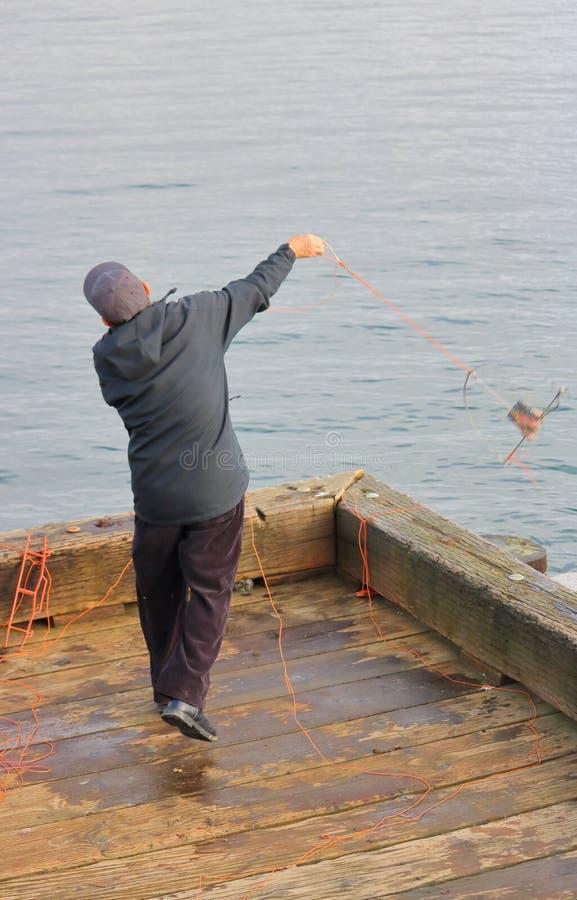 Moulage d'un filet de crabe photo libre de droits