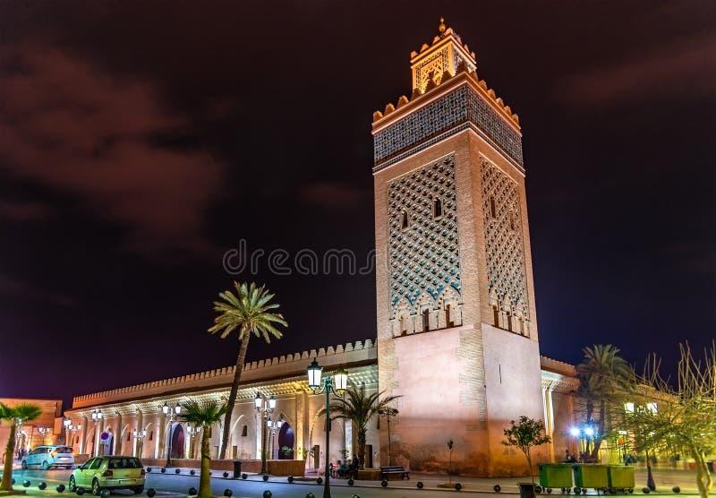 Moulay El Yazid Mosque a Marrakesh, Marocco fotografia stock