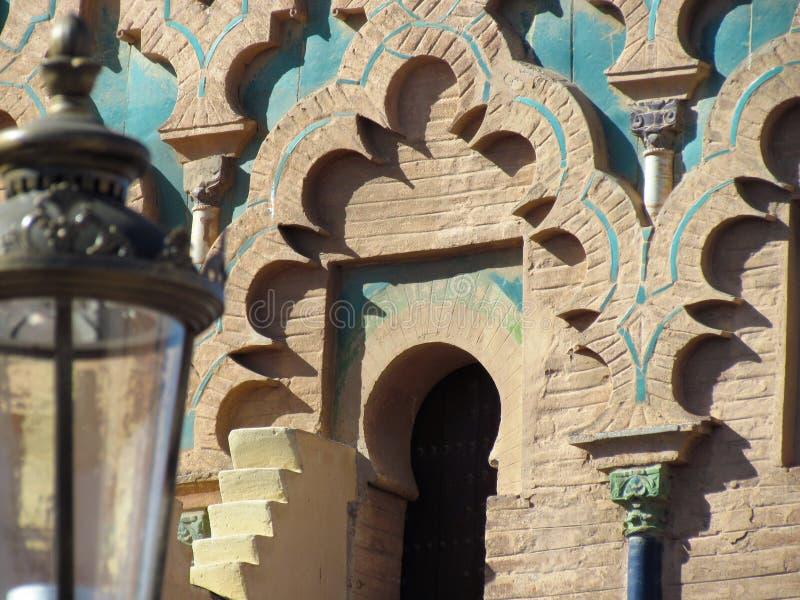 Moulay El Yazid Mosque nel vecchio Medina di Marrakesh fotografie stock