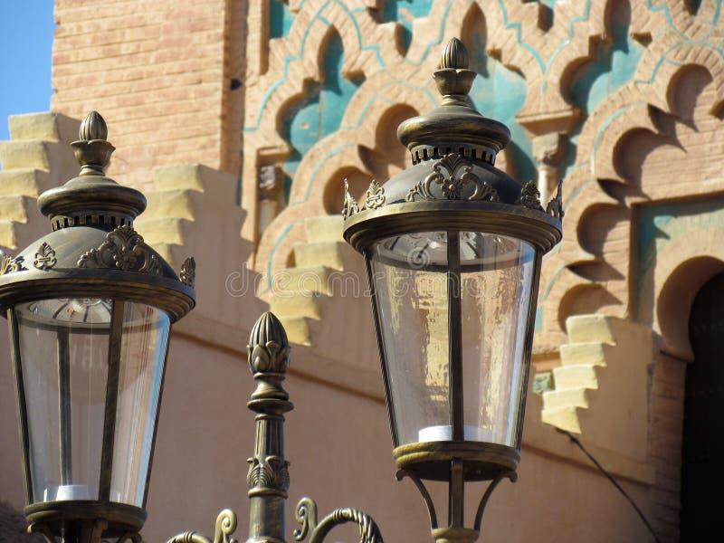 Moulay El Yazid Mosque nel vecchio Medina di Marrakesh fotografia stock libera da diritti
