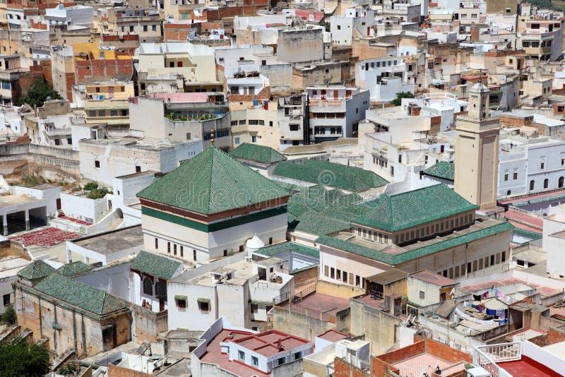 Moulay Idriss, Marrocos fotografia de stock