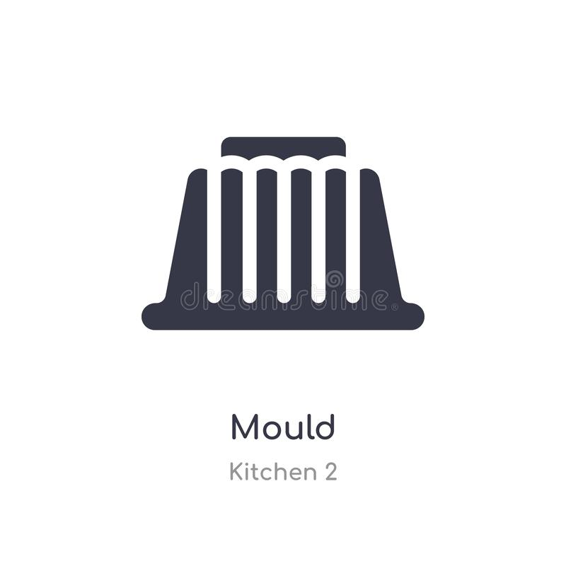 Mould icon. isolated mould icon vector illustration from kitchen 2 collection. editable sing symbol can be use for web site and. Mobile app royalty free illustration