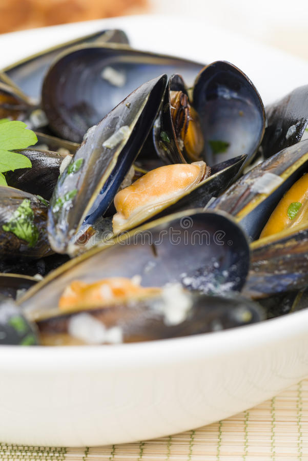 Moules Marinieres Royalty Free Stock Images