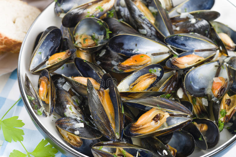 Download Moules Marinieres stock photo. Image of black, french - 36185478