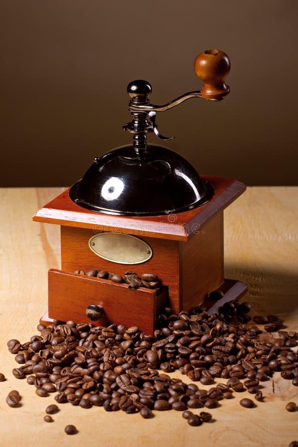 Moulin à café image libre de droits