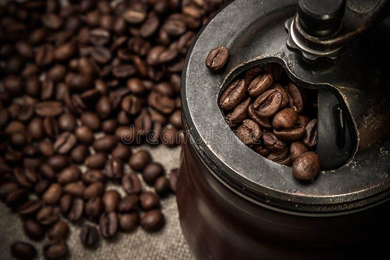 Moulin à café photographie stock libre de droits