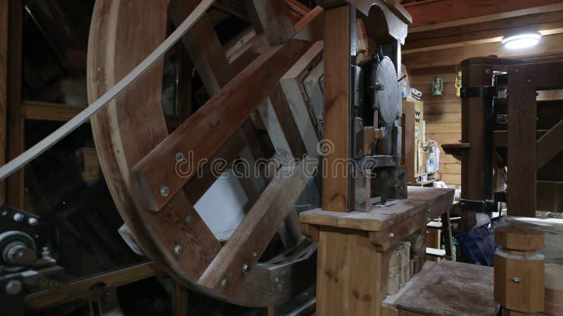 Moulin à eau d'intérieur, Osijek Croatie images libres de droits