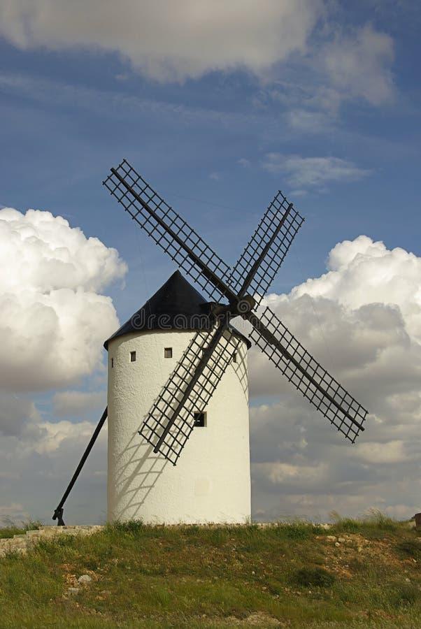 Moulin à vent 17 d'Alcazar image stock