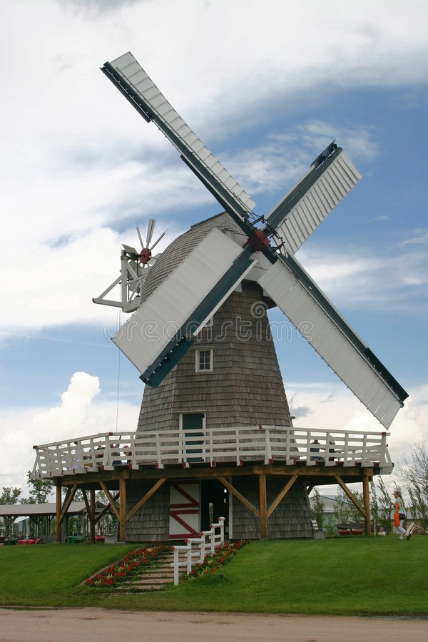 Moulin à vent photo stock