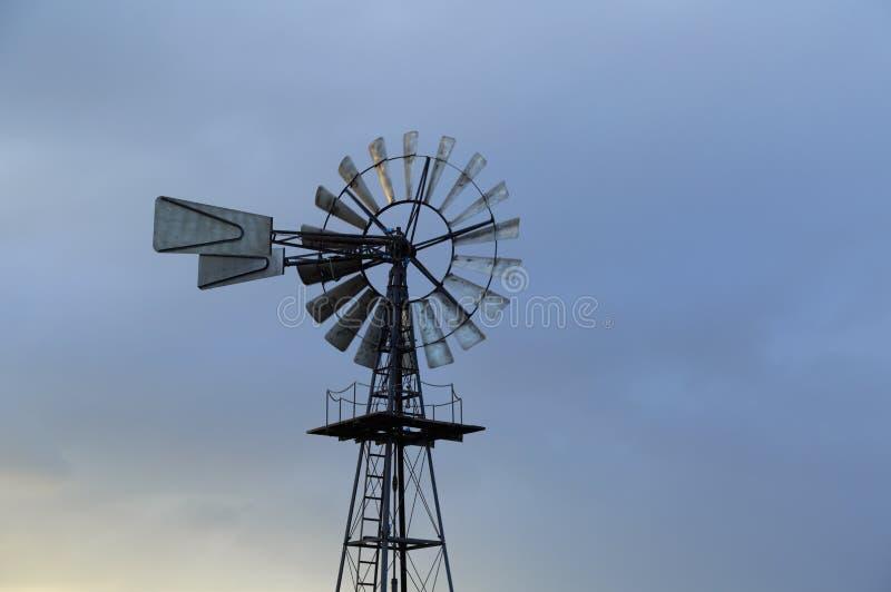 Moulin à vent américain photographie stock