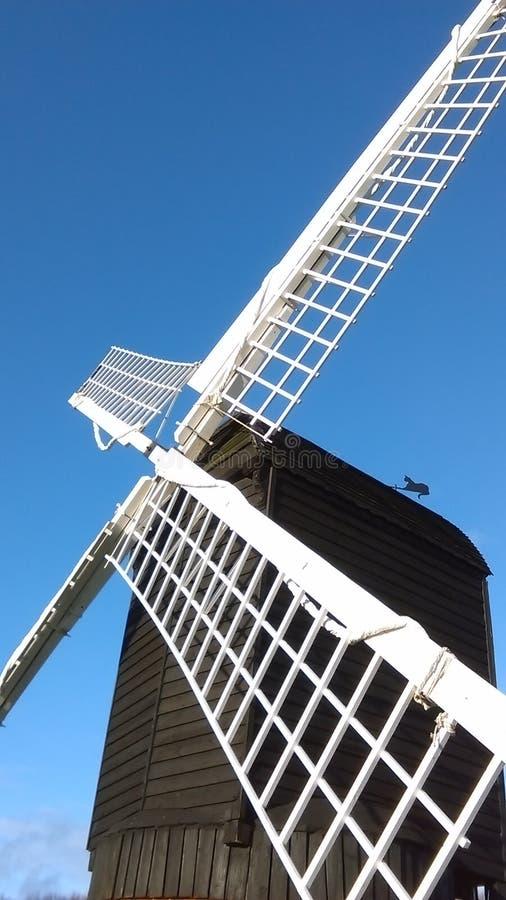 Moulin à vent anglais de courrier, vue #3 photographie stock