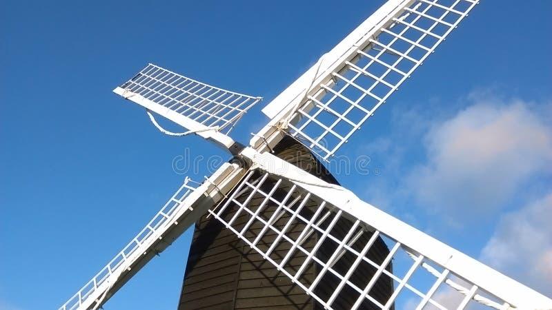 Moulin à vent anglais de courrier, vue #4 photos libres de droits