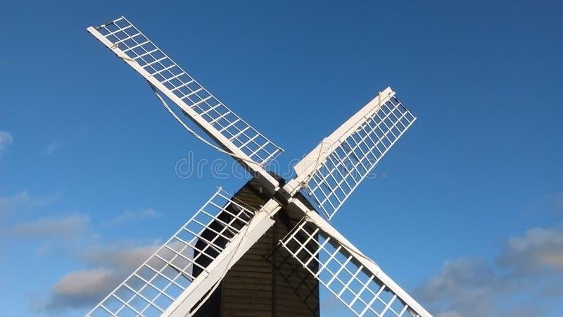 Moulin à vent anglais de courrier, vue #2 images stock