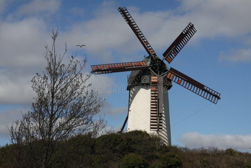 Moulin à vent aux Skerries en Irlande photo libre de droits
