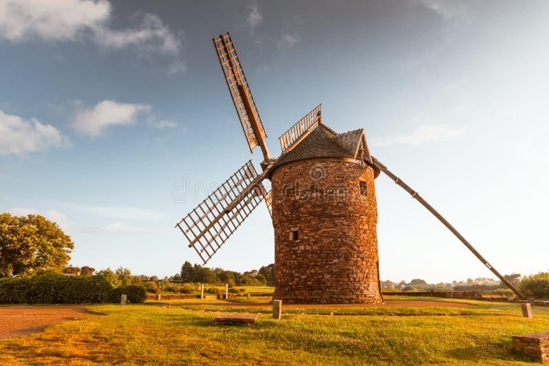 Moulin à vent Brittany France de Dol de la Bretagne photos stock