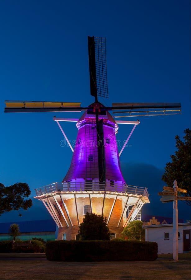 Moulin à vent coloré image stock