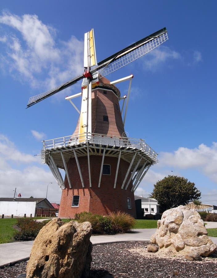 Moulin à vent dans Foxton photo libre de droits