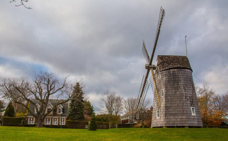 Moulin à vent dans Hampton New York est images libres de droits