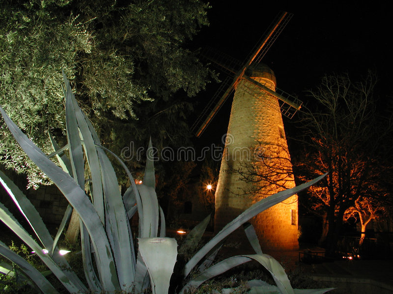Moulin à vent de Montifiore photographie stock