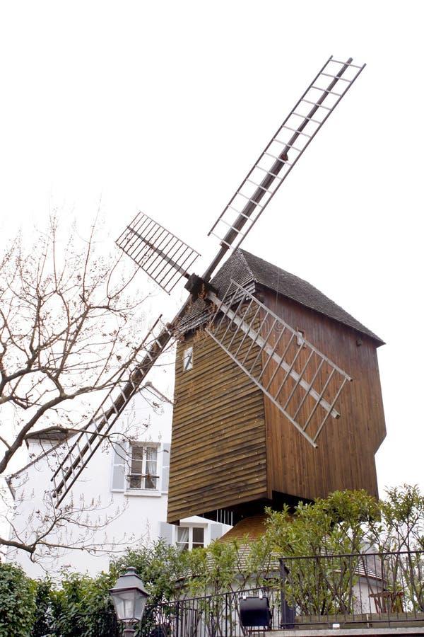 Moulin à vent de Montmartre photos libres de droits