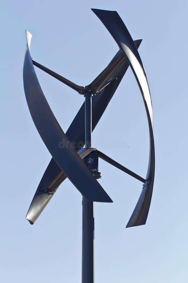 Moulin à vent de ville image libre de droits
