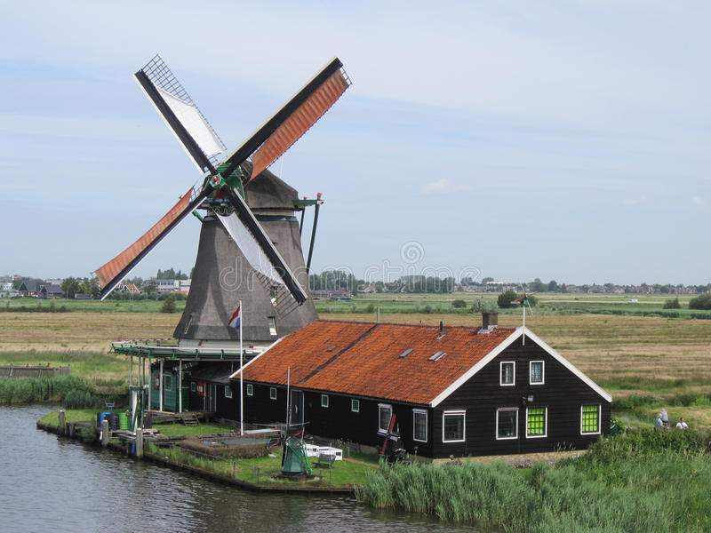 Moulin à vent III images libres de droits