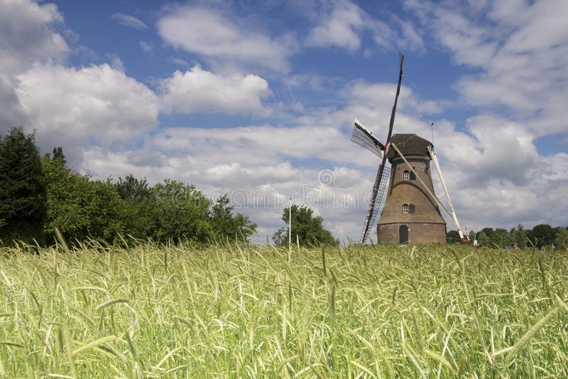 Moulin à vent le Piepermolen images libres de droits