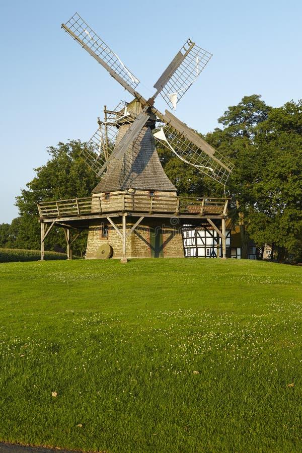 Moulin à vent Levern (Stemwede, Allemagne) photo libre de droits
