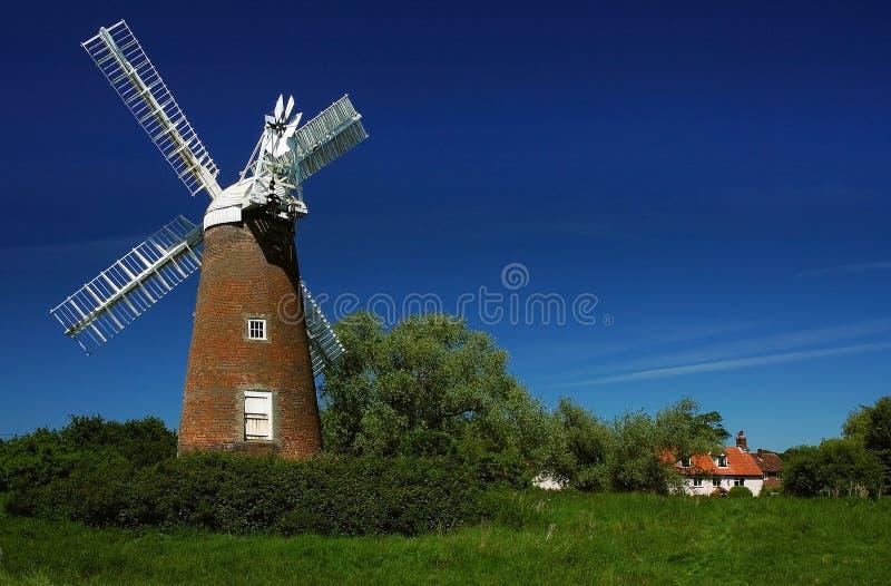 Moulin à vent Norfolk de Billingford photo stock