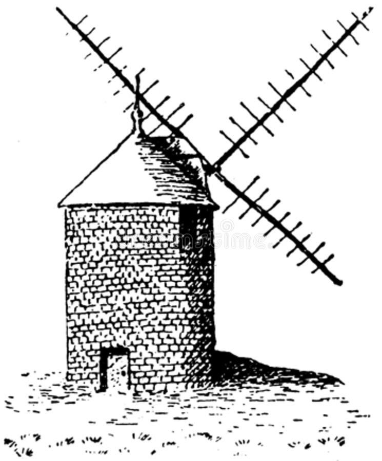 Moulin-003 Free Public Domain Cc0 Image